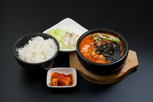 スン豆腐チゲランチ
